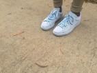 'Blue Suede Classic - Solange' Sneaker