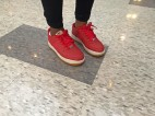 "Nike Air Force 1 Low ""Red Croc"""