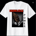 """Knowledge Is Power"" Tee"