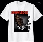 """Knowledge Is Power"" Tee"